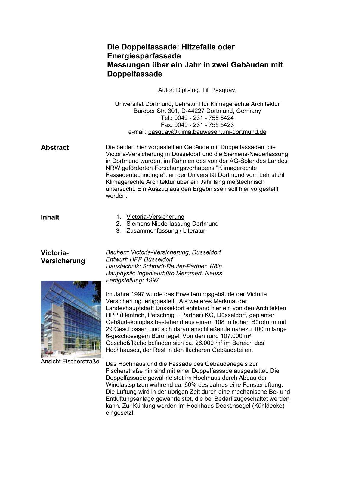 Berühmt Ingenieurbüro Zusammenfassung Zeitgenössisch - FORTSETZUNG ...