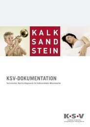 ksv-dokumentation - Creabeton Materiaux AG