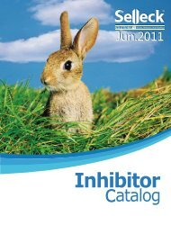 Selleck 2011 Inhibitor Catalog