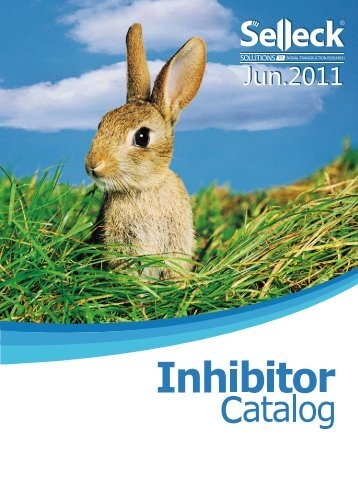 Selleck 2011 Inhibitor Catalog