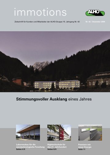 Download [PDF] - Alho Systembau GmbH