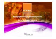 Managing knowledge, Maximising returns - Research-live.com