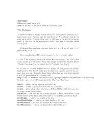 CSCI232 - assignment 3 (pdf)