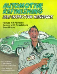Automotive Refinishing Handbook - Port Compliance.org