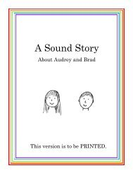Revised Sound Story - Sound City Reading