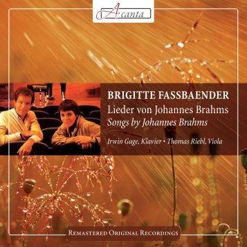 brigitte fassbaender - Naxos Music Library