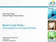 Raum+ AKTIV - Planungsgemeinschaft Mittelrhein-Westerwald