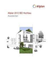Allplan 2012 IBD Hochbau Assistenten