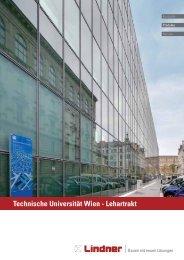 PR-TU Wien - Lehartrakt.indd - Lindner Group