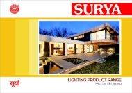 Lighting Products Range - Surya Roshni Lighting