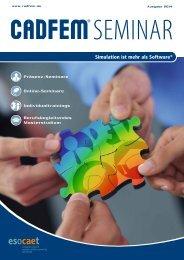 CADFEMSeminar2014 - CAD-FEM GmbH