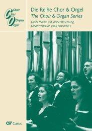 Chor & Orgel 2011 - Carus-Verlag