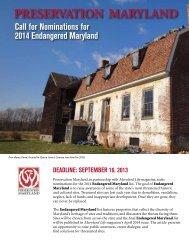 Preservation Maryland
