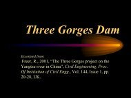 Three Gorges Dam - istiarto