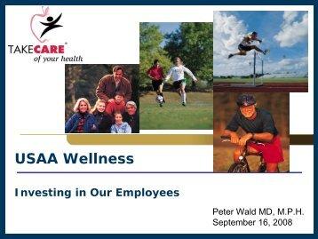 Wald, Peter. USAA Wellness