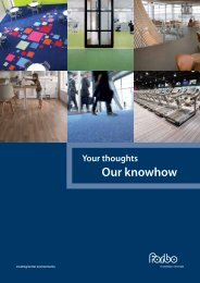 Our knowhow - RIBA Product Selector