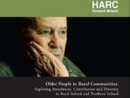 Older People in Rural Communities - CARDI