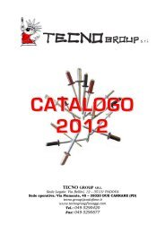 catalogo 2012 - Tecnogroup