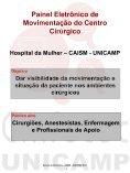 Luis Augusto M. da Silva - Centro de Computação - Unicamp - Page 3