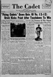 The Cadet. VMI Newspaper. October 30, 1933 - New Page 1 [www2 ...