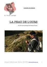 LA PEAU DE L'OURS - Le Monde des Pyrénées