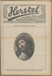 Herstel (1940) nr. 47 - Vakbeweging in de oorlog
