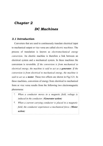 Chapter 2 DC Machines - KUET