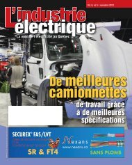 De meilleures camionnettes - Electrical Business Magazine