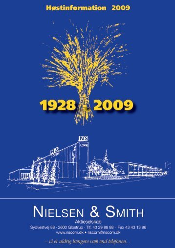 NIELSEN & SMITH - NSCORN