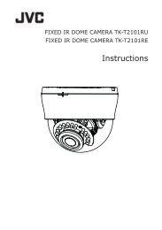 TK-T2101RU Instruction Manual - JVC