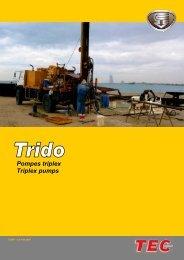 Pompes triplex Triplex pumps - TEC System