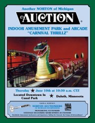 complete full color brochure - Norton Auctioneers