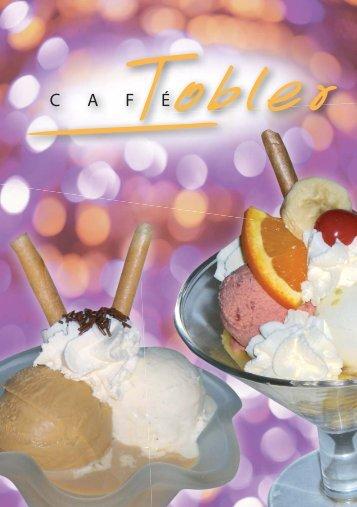 Glacekarte (PDF) - Cafe Tobler