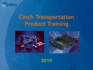 Application - Cinch Connectors