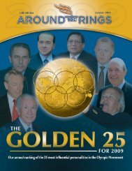 Golden 25 2009 Special Edition - Around the Rings