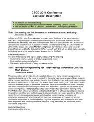 Description - Society for the Arts in Dementia Care