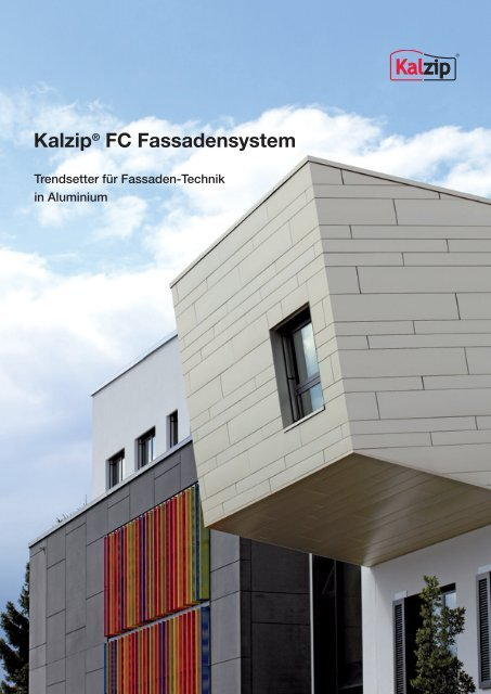 FC Fassadensystem - Kalzip
