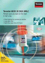 Terostat-8630 2K DGX HMLC - Henkel