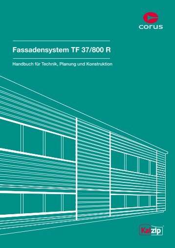 6. Kalzip Fassadensystem TF 37/800 R