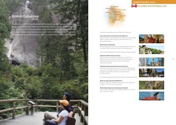 Summer Holiday 2011 Brochure - Rocky Mountain Holidays