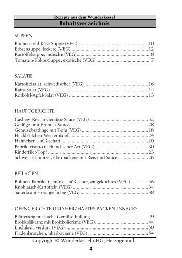 Lieblingsrezepte Band 7 - Wunderkessel-kochbuch.de