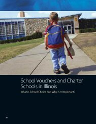 School Vouchers and Charter Schools - Institute of Government ...