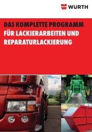 Lackierarbeiten und Reparaturlackierung - Adolf Würth GmbH & Co ...
