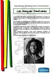 Les Musiques Jamaïcaines - Médiathèques de Colombes - Ville de ...