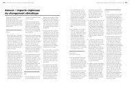 Annexes: impacts regionaux du changement ... - Climate Centre