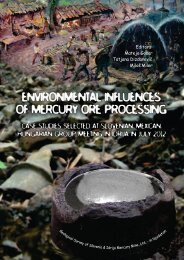 Environmental influences of mercury ore processing Case studies ...