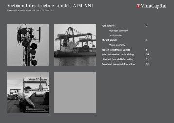 VNI Q2 2013 report - VinaCapital