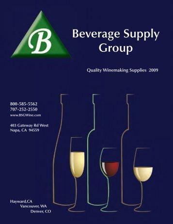 Beverage Supply Group - Arizona Wine Growers Association