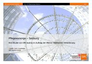 Pflegevorsorge – Salzburg - Wiener Städtische