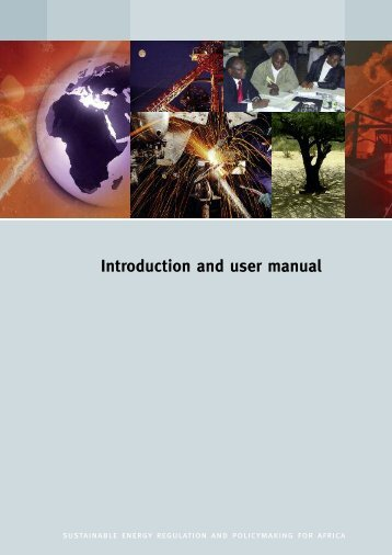 Introduction and user manual - unido